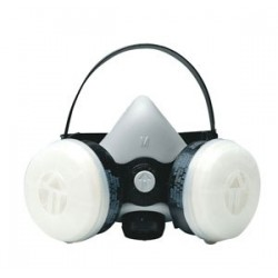 DUAL ELEMENT RESPIRATORS FACE MASK