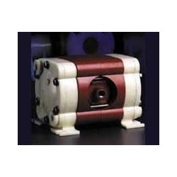 "1/4"" POLYPROPYLENE/TEFLON DOUBLE DIAPHRAGM PUMP"
