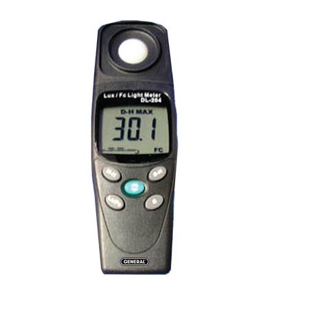 WIDE RANGE DIGITAL LIGHT METER