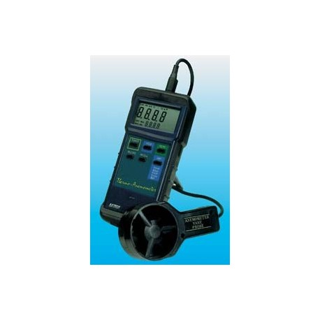 HEAVY-DUTY THERMO-ANEMOMETER