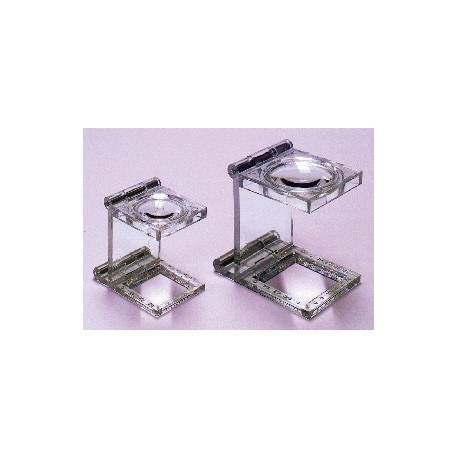 6X & 9X TRANSPARENT FOLDING MAGNIFIERS