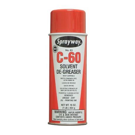 AEROSOL SOLVENT CLEANER