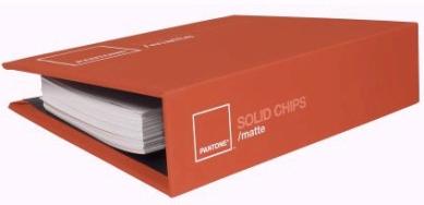 Solid Chips Matte Pantone Color Guide